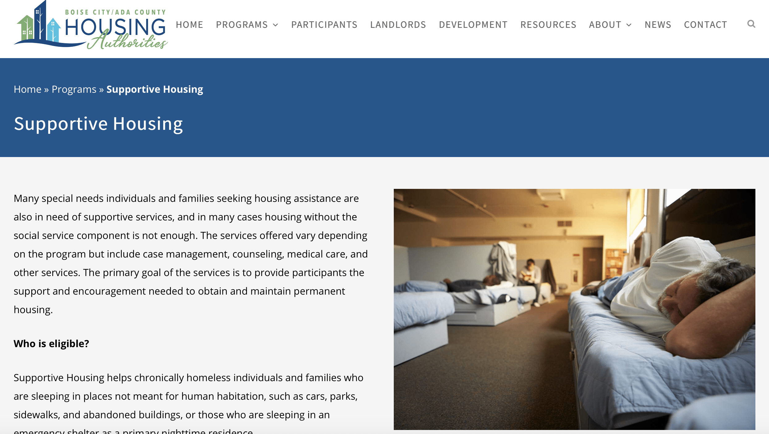 BCACHA Launches New Website | Boise City/Ada County Housing