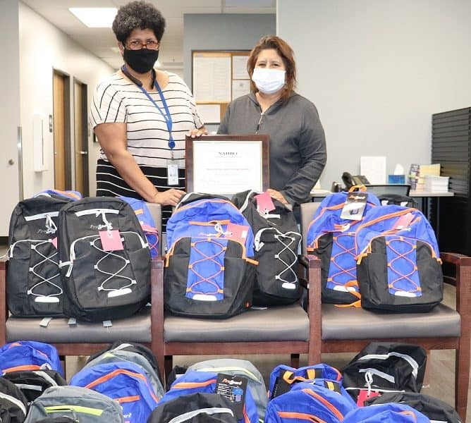 Annual Backpack Give-Away!